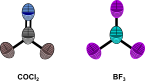 trigonal planar molecules