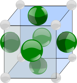 array of anions and cations
